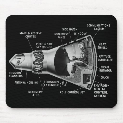 Projecy Mercury Cutaway Mouse Pads