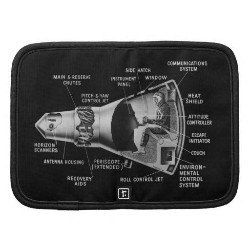 Projecy Mercury Cutaway Planners