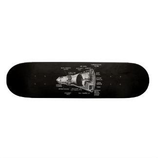 Projecy Mercury Cutaway Skateboard