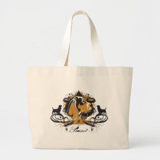Projekt Dog Basset Hound Canvas Bag