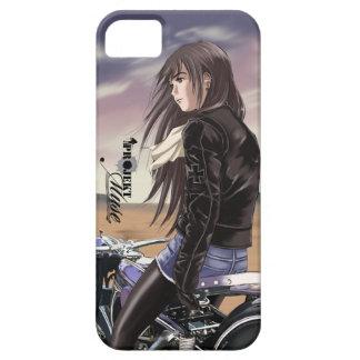 Projekt MUSE: Adalwolfa on Bike iPhone SE/5/5s Case