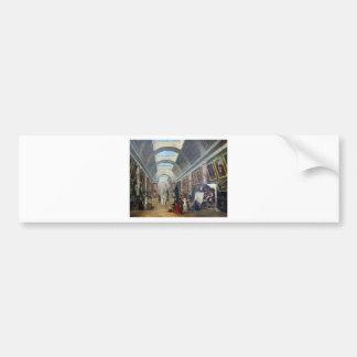 Projet d'aménagement de la Grande Galerie Bumper Sticker
