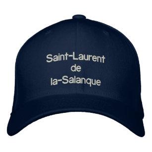 37ddd725ee5 Projet pour Saint Laurent de la Salanque Embroidered Baseball Hat