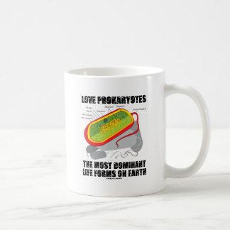 Prokaryotes del amor la mayoría de las formas de v tazas de café