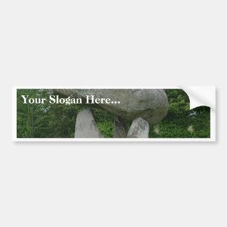 Proleek Dolmen In Ireland Bumper Sticker