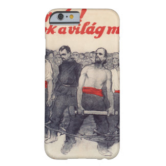 Proletarians! Forward! Propaganda Poster Barely There iPhone 6 Case
