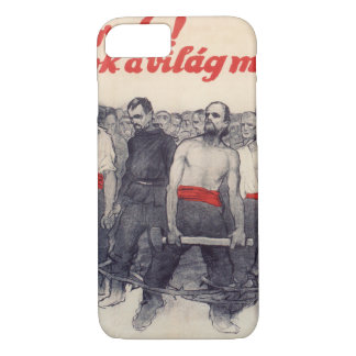 Proletarians! Forward! Propaganda Poster iPhone 8/7 Case