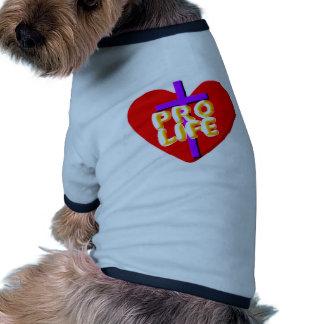 ProLife Camisetas De Perro