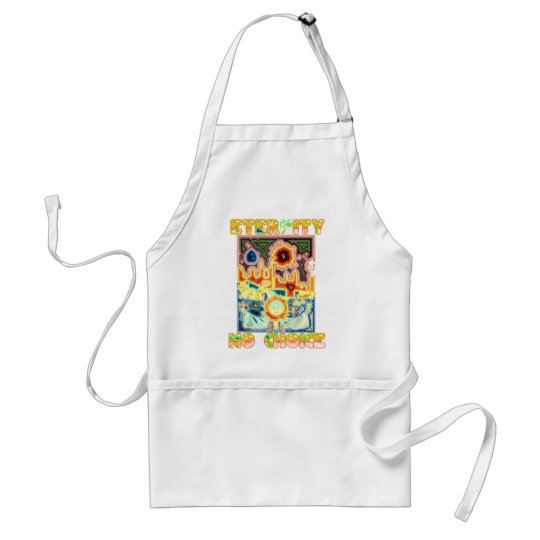 Prolife Virgin Mary Testimony Adult Apron