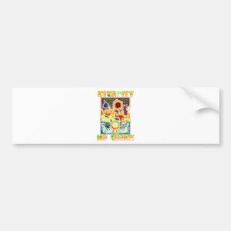 Prolife Virgin Mary Testimony Bumper Sticker