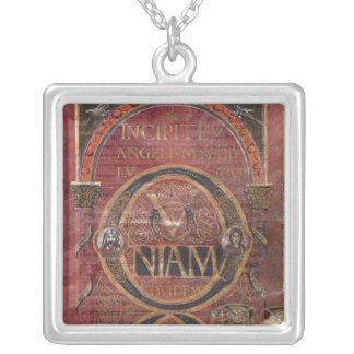 Prologue of the Gospel of St. Luke Silver Plated Necklace