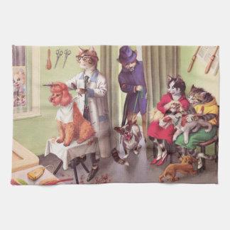 PROLONGACIONES DEL ANDÉN: Dogo en los peluqueros - Toallas De Cocina