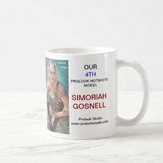 PROLOOK HOTSHOTS MODEL T-SHIRT   SIMORIAH GOSNELL COFFEE MUG