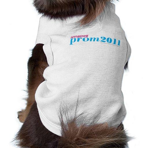 Prom 2011 - Aqua Dog Tee Shirt