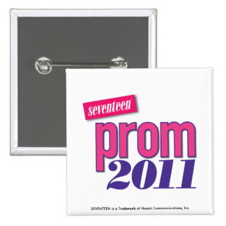 Prom 2011 - Pink Pinback Button