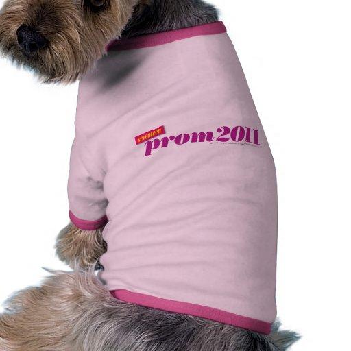 Prom 2011 - Purple Doggie Tshirt