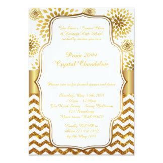 Prom Crystal Chandelier card, senior junior,Gatsby Card