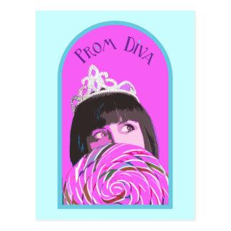 Prom Diva Postcards