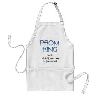 Prom King Adult Apron
