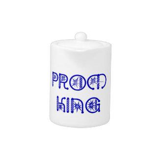 Prom King Teapot
