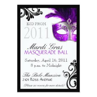 Prom Masquerade Invitation