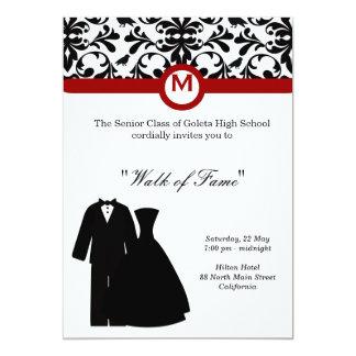 """Prom Night 5"""" X 7"""" Invitation Card"""