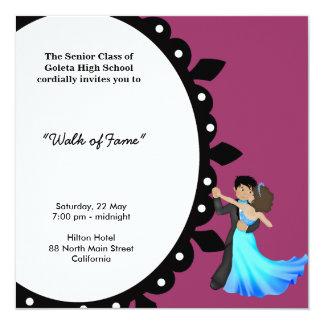 Prom Night Dance Card