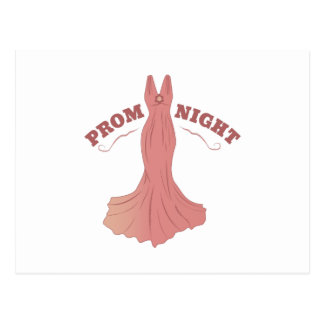 Prom Night Postcard