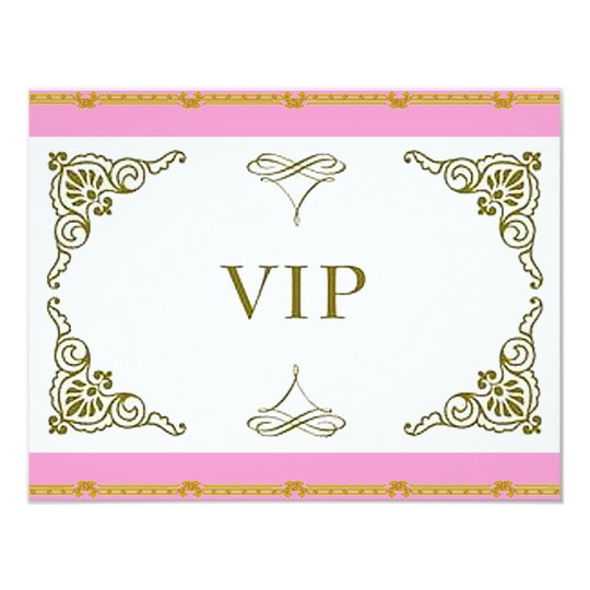 Prom Party VIP Invitation 3