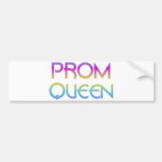 Prom Queen Bumper Stickers