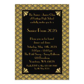 Prom Senior-Junior, Gatsby style, 1920s style Card