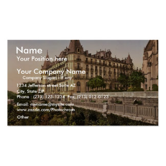 Promenade and Grand Hotel Gassion, Pau, Pyrenees, Double-Sided Standard Business Cards (Pack Of 100)