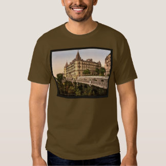 Promenade and Grand Hotel Gassion, Pau, Pyrenees, T-shirt