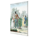 Promenade at Fontenay-aux-Roses Canvas Print