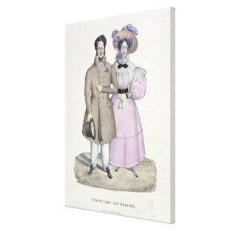 Promenade Bourgeoise Canvas Prints