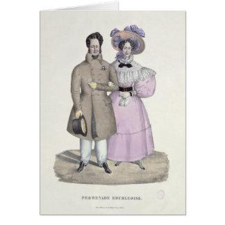 Promenade Bourgeoise Card