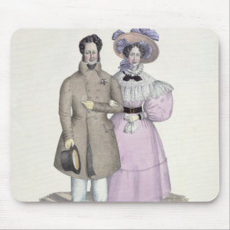 Promenade Bourgeoise Mouse Pads