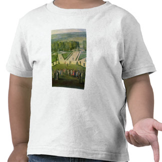 """""""promenade"""" de Louis XIV por el Parterre du Nord Camisetas"""