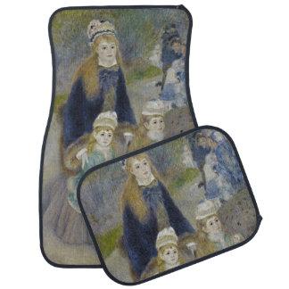 """""""promenade"""" del La de Pierre-Auguste Renoir Alfombrilla De Coche"""