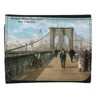 """""""promenade"""" del puente de Brooklyn"""
