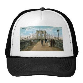 """""""promenade"""" del puente de Brooklyn, New York City Gorras De Camionero"""