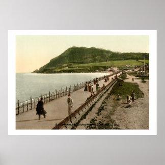 """""""promenade"""" del rebuzno, condado Wicklow Poster"""