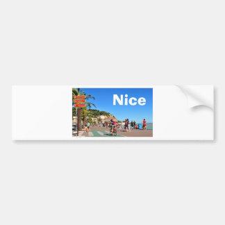 Promenade des Anglais Bumper Sticker
