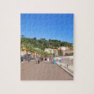 Promenade des Anglais Jigsaw Puzzle