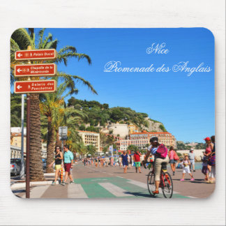 Promenade des Anglais Mouse Pad