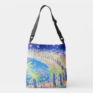 Promenade des Anglais Nice seaside bag. John Dyer Crossbody Bag