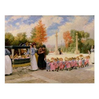 Promenade des Enfants Postcard