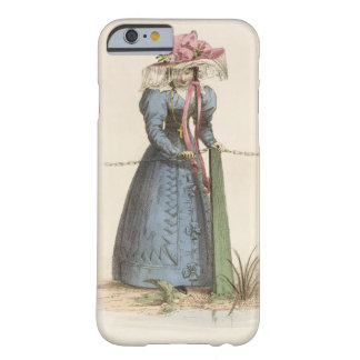 Promenade Dress, fashion plate from Ackermann's Re Barely There iPhone 6 Case