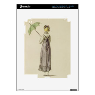 Promenade dress, fashion plate from Ackermann's Re Decals For iPad 3