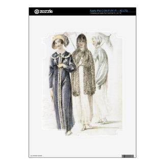 Promenade dresses, fashion plate from Ackermann's Skins For iPad 3